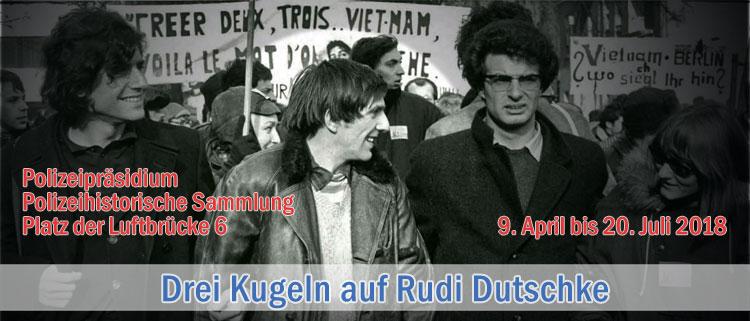 Drei Kugeln auf Rudi Dutschke