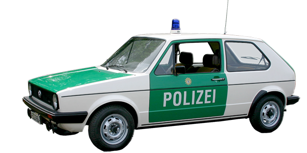 VW Golf 1 Funkstreifenwagen