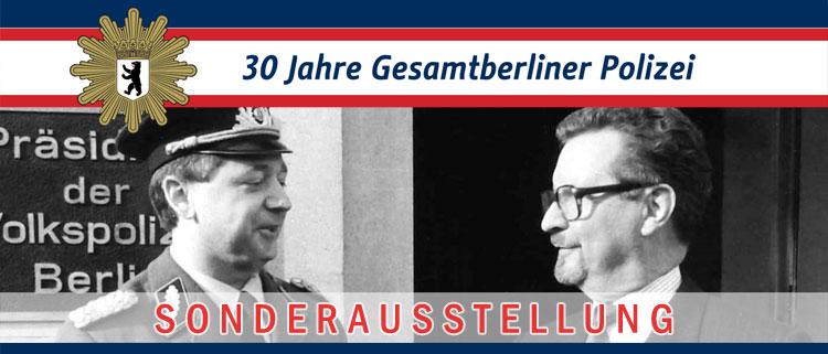 30 Jahre Gesamtberliner Polizei