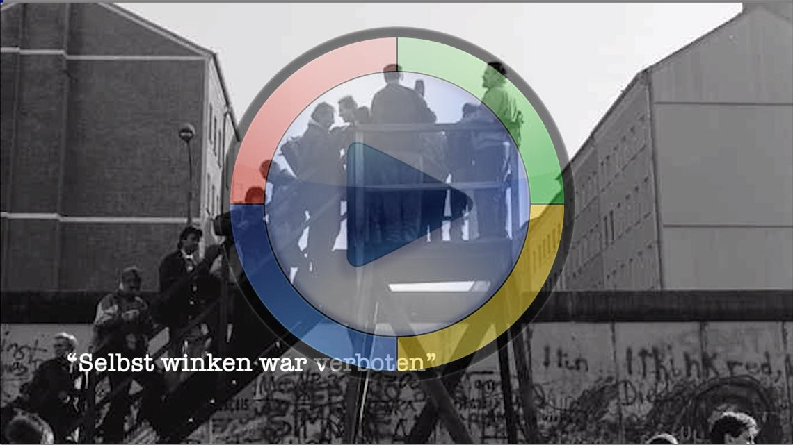 """""""Selbst Winken war verboten…"""""""
