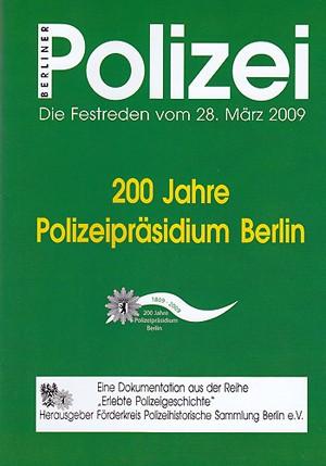 200 Jahre Polizeipräsidium Berlin